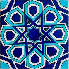 Iznik Sultan Line Geometrical Design Blue 02 Turkish Tiles, Turkish Art, Tile Patterns, Pattern Art, Zentangle Patterns, Islamic Tiles, Turkish Pattern, Islamic Art Pattern, Islamic Calligraphy