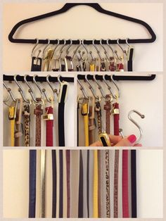 Shower curtain hooks.... Who'd have thought...