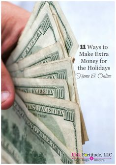 11 Ways to Make Extra Money for the Holidays - From Home and Online by coconutheadsurvivalguide.com