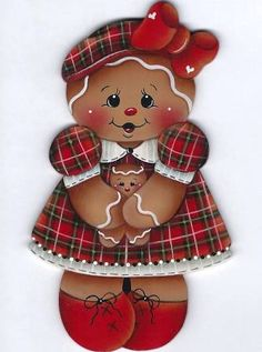 The Decorative Painting Store: Ginger Mom and Baby Pattern, Gingerbread Gingerbread Ornaments, Gingerbread Decorations, Christmas Gingerbread, Christmas Decorations, Gingerbread Men, Christmas Paintings, Christmas Art, Christmas Ornaments, Baby Painting
