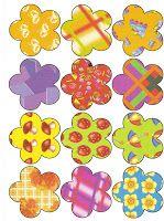 РАЗВИТИЕ РЕБЕНКА: Разноцветные узоры