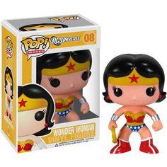 DC Universe POP Heroes Wonder Woman Vinyl Figure