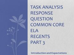 This Omega English product contains a very detailed Common Core aligned lesson that highlights the Danielson Domains, a corresponding Power Point, a Teacher Checklist/Conference List, and a Practice Paper Group Work Worksheet.  This lesson is intended to introduce students to a Text Analysis Response Question which is Part 3 of the Common Core Regents.