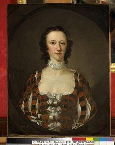 Flora Macdonald, 1722 - 1790. Jacobite heroine  Wilson Richard (1714-1782) 1747 Royaume-Uni, Edimbourg, National Galleries of Scotland