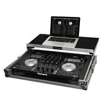 Numark NV Prox ATA 300 Road Gig Ready Flight case Mobile DJ sliding laptop shelf