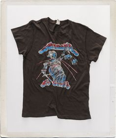 5b3c27a6043e7 Metallica And Justice For All Concert T-Shirt