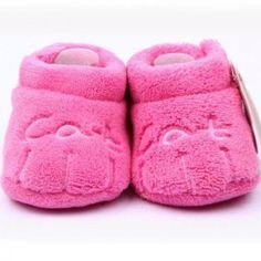 Fashion for the little ones  Category: Gifts for Kids  Subcategory: Plush Slippers  Do you want your tiny tot's first steps to be in style?If so, our plush paw shoes are the perfect footwear for your little ones out there! Ultra soft as well as colourful, these shoes are ideal for comfort as well as to make a style statement!  Made of plush cotton  Soft and brightly coloured