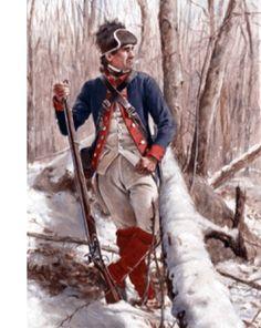 Black Irishman of the 2nd Pennsylvania (Continental Army) 1778, by Don Troiani.
