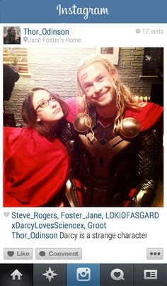 Thor | 13 Instagrams From The Marvel Universe
