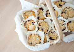Baked Bree - eat well, laugh often » Blueberry Muffins