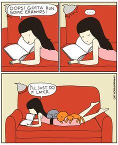 From Cat vs Human byYasmine