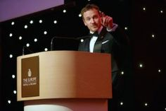 Michael Fassbender addressing guests at the Killarney Chamber of Tourism and Commerce black-tie ball,at the Europe Hotel and Resort
