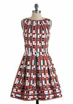 Unique Dresses, Cute Dresses, Dresses For Work, Dress Outfits, Fashion Dresses, Cute Outfits, Summer Outfits, Retro Vintage Dresses, Dress To Impress