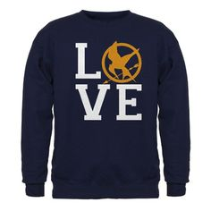 Hunger Games Love Sweatshirt (dark)