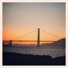 Golden Gate Bridge, San Francisco, Sunset