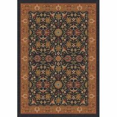 """Milliken & Company Kamil Ebony Runner: 2 Ft. 4 In. X 11 Ft. 8 In. Rug by Milliken. $189.00. 28""""""""W x 140""""""""D. Finish: Runner: 2 Ft. 4In. X 11Ft. 8 In.. -Stainmaster brand stain treatment -Alphasan Antimicrobial -10 year wear warranty"""