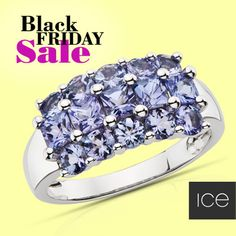Get an early start on the Black Friday Sale with this Tanzanite ring. #BlackFriday