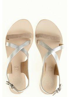 Metallic Jade Sandal