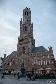 Bruges Belfry. A Roadtrip Through The Netherlands and Belgium Part 2: Bruges, Ghent and Brussels   --> http://www.confiscatedtoothpaste.com/roadtrip-netherlands-belgium-part-1-amsterdam-haarlem-hague-zeeland/