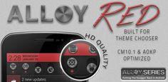 Alloy Red Theme CM10.1 1.3.1   Telubungsu