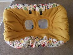 Make Your Own Shopping Cart Cover (w/pictures) « Beaucoup Baby Blog