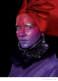 Érico Toscano Captures Stunning MAC Makeup Looks for L'Officiel Brazil