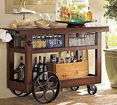 Bar or kitchen island?