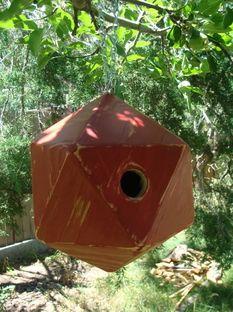 Birdhouse, driftwood furniture