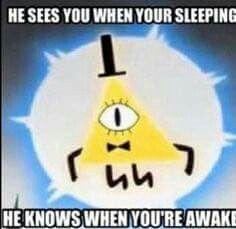 """Good luck sleeping at night"""