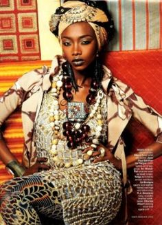 Beauty and the Green: African Fashion....So Haute!