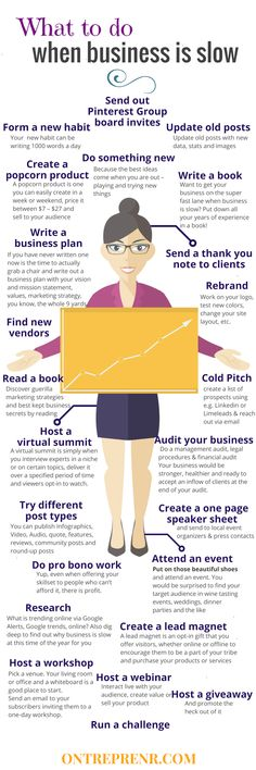 When business is slow these 50 game-changing tips will help grow your business and put it back on the fast track