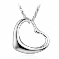 Mind from Heart 925 Sterling Silver Necklace | Aimeng-silver.com
