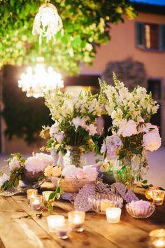 Gorgeous Tuscan Wedding Table http://www.italyweddingplanner.com