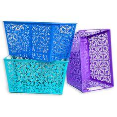 Decorative Metal Bins | Five Below