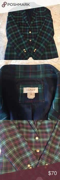 *Price Drop* J. Crew Factory Jacket Beautiful jacket and perfect for the holidays! I love this! This is a re-posh item- I purchased on Posh but it didn't fit correctly. It's priced aggressively to sell, as I'm just trying to get back the money I spend on it. New without tags! J. Crew Factory Jackets & Coats Blazers