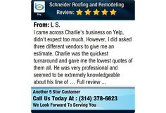 I came across Charlie's business on Yelp, didn't expect too much. However, I did asked...