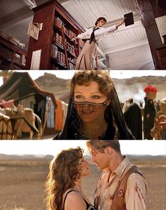 The Mummy--when I think of good old-fashioned adventure movie, this immediately comes to mind,