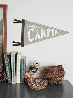 Inexpensive Wall Art Alternative:   10 Pennants and Banners for Kids Rooms