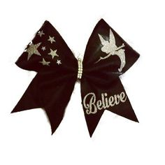 All Cheerleaders Must BELIEVE By Just Cheer Bows