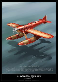 Airplane Art, Airplane Fighter, The Art Of Flight, Amphibious Aircraft, Float Plane, Airline Travel, Flying Boat, Aircraft Design, Aviation Art