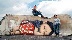 New Street Art by Seth Globepainter found in Pangukrejo Java Indonesia