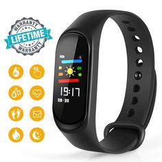 75a911245063 Warmhoming Fitness Tracker M3 Fitness Watch Sport Wristband Activity  Tracker Heart Rate Monitor Sleep Monitor Step