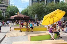 Urbanismo tático em San Diego: a transformação de um estacionamento em parque