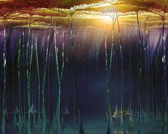 Jungle Picture  (2d, landscape, trees, jungle, atmosphere, fantasy)
