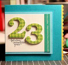 Happy Birthday #card by Kristina Werner