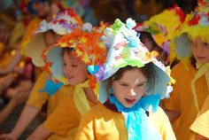 easter hat --- this is almost like the ones we had in Monroe!!