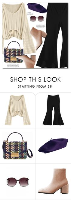 """Bell Bottom Pants"" by duma-duma ❤ liked on Polyvore featuring Tory Burch"