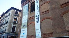 """Cartel de la expo """"Miró y el objeto"""" en Caixa Forum #Madrid #Cartel #Affiche #Arterecord 2016 https://twitter.com/arterecord"""