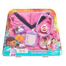 Doc McStuffins Doctor's Dress Up Set - Pink Scrubs TOYS R US