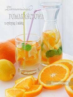 Lemoniada pomarańczowa Homemade Protein Shakes, Easy Protein Shakes, Protein Shake Recipes, Healthy Recipes, Cocktail Recipes, Cocktails, Smoothie Drinks, Weight Loss Smoothies, Mojito
